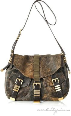 Michael Kors Darrington Flap Hobo saddle bag #fall #fashion #handbags