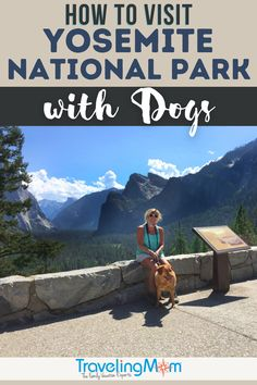 Can you take a dog to Yosemite? Yes, you can! Here's how how to safely visit Yosemite with dogs, including dos and don'ts and a list of where dogs are NOT welcome inside the national park. Find out when Yosemite Hospitality operates a dog kennel in Yosemite Valley, what happens when you spot natural wildlife, pet-friendly lodging and details for how to make a reservation to visit Yosemite. (photo credit: Mimi Slawoff)