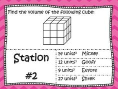 Volume of Cubes & Rectangular Prisms Mad Math Lib 6.G.2 Get your students up and moving with this mad math lib. As students solve 16 different volume problems aligned to common core standard 6.G.2 they will find words to fill into their mad math lib story.