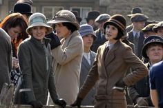 DOWNTON ABBEY ~ Behind-the-scenes while filming Season 6 in March 2015.