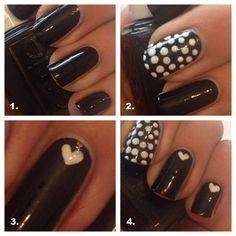 Manicure Maandag: zwart-wit met een liefelijk kantje - HLN.be