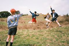 BTS V, Jimin, Rap Monster & J-Hope teaser photo 'Young Forever'