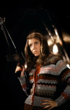 Carrie Fisher as Mystery Woman in The Blues Brothers.