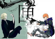 Urahara and Ichigo Bleach Art, Bleach Anime, Fujoshi, Image Boards, Batman, Superhero, Manga, Orange Tops, Shiro
