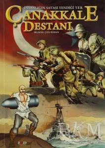 İnsanlığın Savaşı Yendiği Yer Çanakkale Destanı Kitabı-Tarih-Kolektif-
