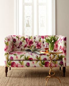 I love this sofa! I want a floral print one so bad! | Colors for ...
