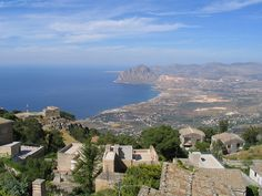 View towards Monte Cofano
