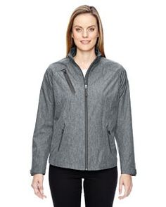 Ash City - North End Sport Red Ladies' Frequency Lightweight Mélange Jacket 78694