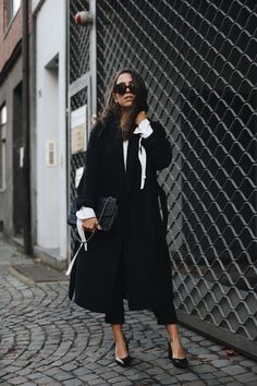 SUBTLE DETAILS | Fiona from thedashingrider.com wears a belted Mango coat, Essen The Label pumps, Céline sunglasses and a Vintage Chanel Bag | Petite Blogger | Style Blogger | Outfit | Shop The Look here: liketk.it/2pFtG