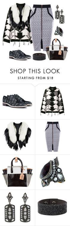 """Street Style"" by karen-galves ❤ liked on Polyvore featuring Lanvin, STELLA McCARTNEY, Fearfur, Reed Krakoff, Sevan Biçakçi and Karl Lagerfeld"