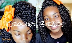 Love this look! May try it on Sunny soon!! Crochet Braids (Little Girls Edition♥)