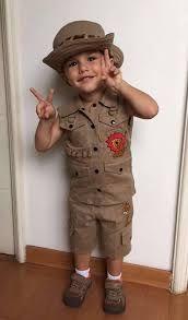 Resultado de imagem para roupa safari criança