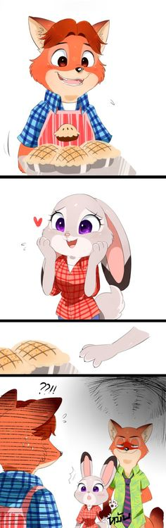 Zootopia-wanna try some? by Unichrome-uni on DeviantArt