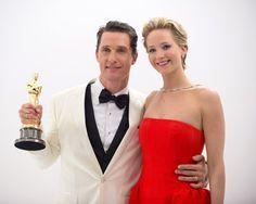 Matthew, actor and last year's actress, Jennifer