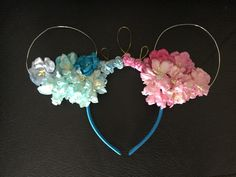 Excited to share the latest addition to my #etsy shop: Floral Aurora theme Disney ears