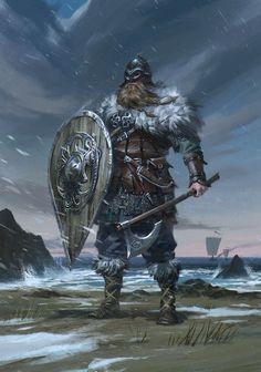 Guerrero vikingo, autor no identificado. Más en http://www.elgrancapitan.org/foro/viewtopic.php?f=87&t=16834&p=874578#p874578