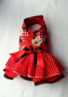 Red Small dog Harness clothes Chihuahua clothes,Disney inspired Minnie outfit Designer dog clothes Puppy clothes Dress - Red Small dog Harness clothes Chihuahua clothes,Disney inspired Minnie outfit Designer dog clothes P - Outfit Designer, Designer Dog Clothes, Chihuahua Clothes, Puppy Clothes, Small Dog Clothes, Baby Dogs, Pet Dogs, Pets, Disney Dogs