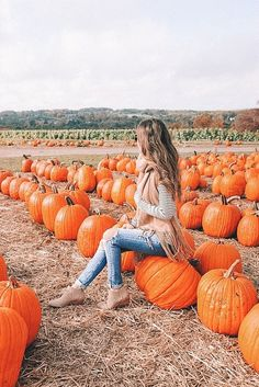 What I'm Loving & Planning to Wear for Fall Christina from Oh So Glam shares a roundup of her favorite fall 2018 trends and where you can find the shop for the pieces at all different price points! Cute Fall Pictures, Fall Photos, Fall Pics, Pumpkin Farm, Cute Pumpkin, Pumpkin Plants, Giant Pumpkin, Pumpkin Patch Photography, Pumpkin Patch Pictures