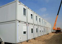 Modern 20 Foot Container House With Eps Sandwich Panel Door Living Homes