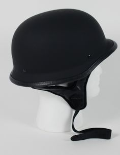 half german motorcycle helmet $19.95#motorcyclehelmet #motorcyclehelmets #germanhelmet #blackgermanhelmet https://theleatherdropship.com