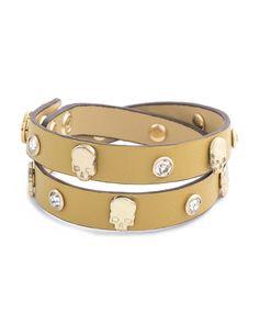 Skull Stud Bracelet by JewelMint