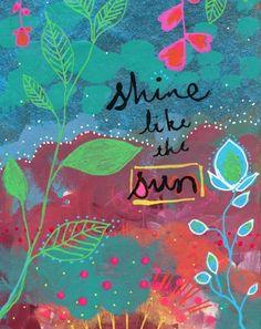 shine like the sun ~ alena hennessy