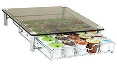 DecoBros Crystal Glass Coffee Storage Drawer Holder for Keurig K-Cup Pods, http://www.amazon.com/dp/B0099HJPME/ref=cm_sw_r_pi_awdm_LQjevb01ATKN9