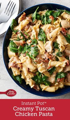 Winner winner chicken dinner This meal really shows off the talents of our favorite electric pressure cooker Just combine ingredients seal and the Instant Pot does the re. Pasta Recipes, Crockpot Recipes, Chicken Recipes, Cooking Recipes, Healthy Recipes, Simple Recipes, Recipe Pasta, Recipe Chicken, Seafood Recipes