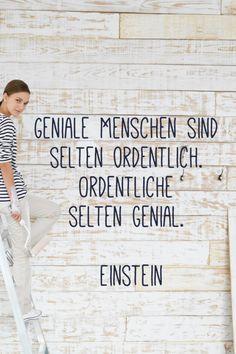 Schöne Zitate fürs Leben - Photo 29 : Fotoalbum - gofemininget some inspirations from these inspirational life quotes; Words Quotes, Life Quotes, Sayings, German Quotes, Do Men, Album Photo, Albert Einstein, True Words, Inspire Me