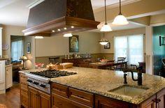 Island Kitchen Hoods | Luxury Kitchen Renovation | Orange County, NY | Masterwork Home