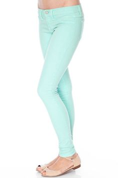 Marques Almeida Light Blue High Rise Skinny Jeans ($360) ❤ liked