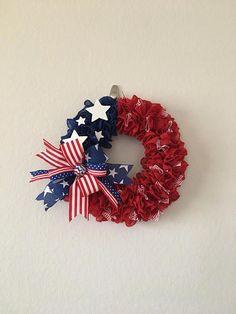 Patriotic Burlap wreath of July Wreath Military Wreath Patriotic Wreath, 4th Of July Wreath, Military Wreath, Fourth Of July, Burlap Wreath, Centerpieces, Wreaths, Unique Jewelry, Handmade Gifts