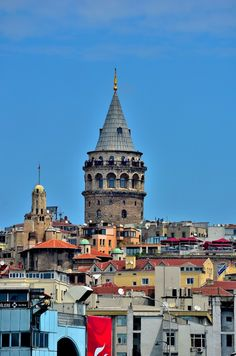 The Galata Tower - Istanbul,Turkey