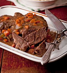 Fork-Tender Pot Roast from the Better Homes and Gardens Must-Have Recipes App