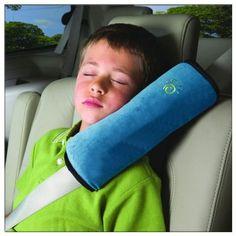 ISOLEM® Voitures Coussin d'épaules Épaule ceinture de sécurité oreiller détachable Pratique et confortable voiture de sécurité Kid Enfants Protéger cou épaules