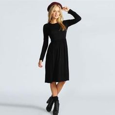 edb5ec40e1 PLAIN BLACK CREP WESTERN DRESS - Awesome Fa Western Tops, Western Wear, Maxi  Gowns