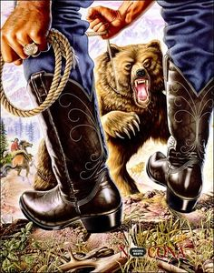 Nocona Boots Poster