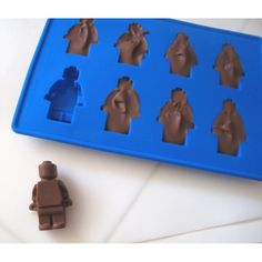Minifigure Ice Cube Tray or Candy Mold ----for Lego Lovers!: Amazon.com: Kitchen & Dining