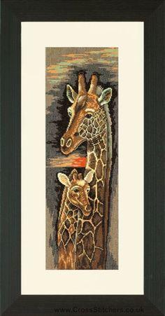 Love and Devotion - Giraffes - 14ct