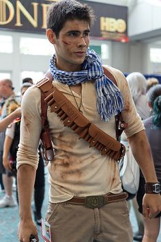 minnicupcakes:  Nathan Drake - Uncharted  I don't know if I've posted this one yet. I've posted so many Nathan Drakes̷...
