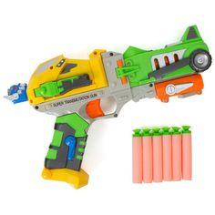 Gun Dart Pro Blaster - Foam Darts - Kids Action Robot Figure  #Kidsthrill