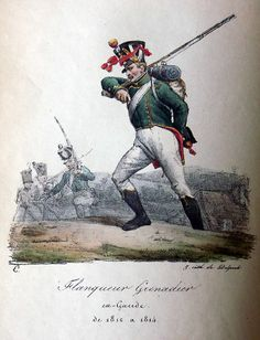 Flanquer Grenadier of the Imperial Guard