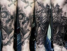 Tattoo Artist - Led Coult Tattoo - warriors tattoo - www.worldtattoogallery.com