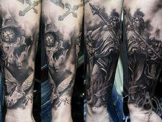 Tattoo Artist - Led Coult Tattoo - warriors tattoo - www.worldtattoogallery.com