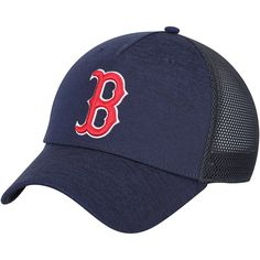 competitive price a8a34 0d4f5 Men s Boston Red Sox Under Armour Navy Twist Closer Trucker Performance Adjustable  Hat, Your