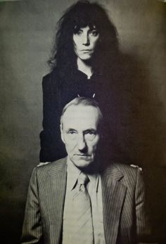 Robert Mapplethorpe, Patti Smith and William S. Burroughs.
