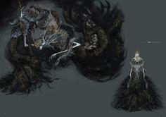 Dark Souls 3 Concept Art - Aldrich Concept Art