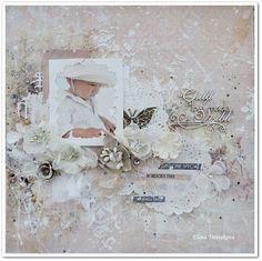 baby+shabby+layout+by+Elena+Tretiakova - Scrapbook.com