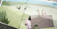 Paňáčci z Hajan už mají taky prázdniny. Jeden den spí zahrabaní v písku u moře, jindy pod stanem, navštíví atrakci s maskami... Andulka má ...