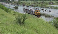 Antisipasi Banjir, PT KAI Tinggikan Jalur Rel di Porong, Besok Diujicoba
